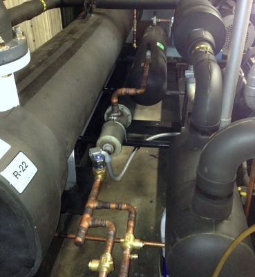 Chiller Install: Williams Lake Curling Club