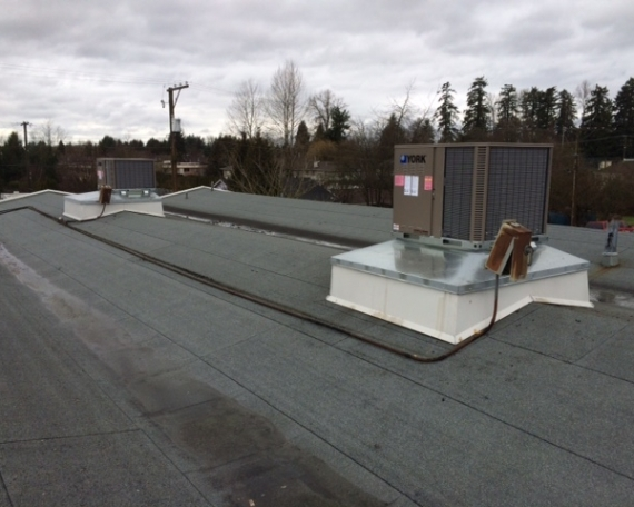 Installation of Rooftop Units: Aldergrove Doctor Office & Pharmacy