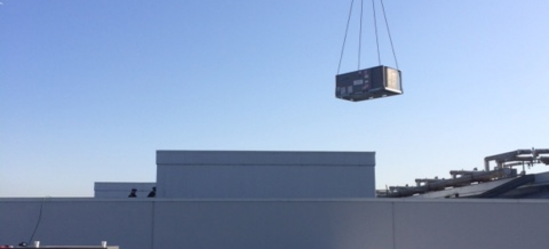 Rooftop Unit Installation: GFS